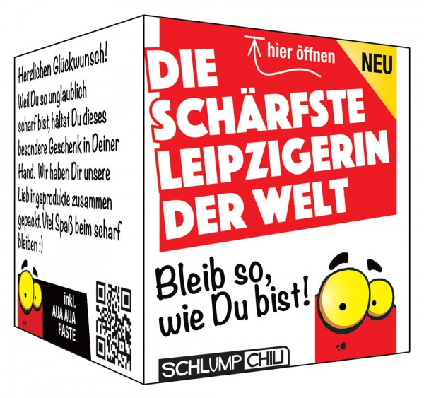 Die schärfste Leipzigerin der Welt - Ein witziges Geschenk!