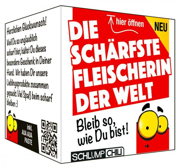 Die schärfste Fleischerin der Welt - Ein witziges Geschenk!