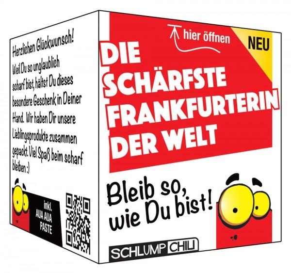Die schärfste Frankfurterin der Welt - Ein witziges Geschenk!