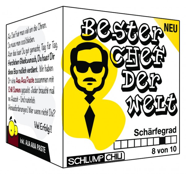 Chef Geschenk - Der beste Chef der Welt!