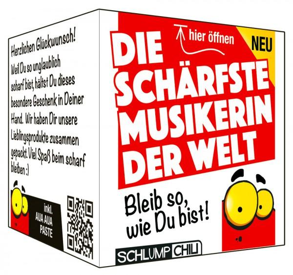 Die schärfste Musikerin der Welt - Ein witziges Geschenk!