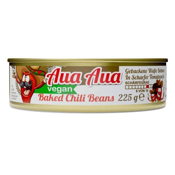BAKED AUAAUA CHILI BEANS⎪Gebackene Weiße Bohnen mit sehr scharfer Tomatensoße in der Konserven Dose