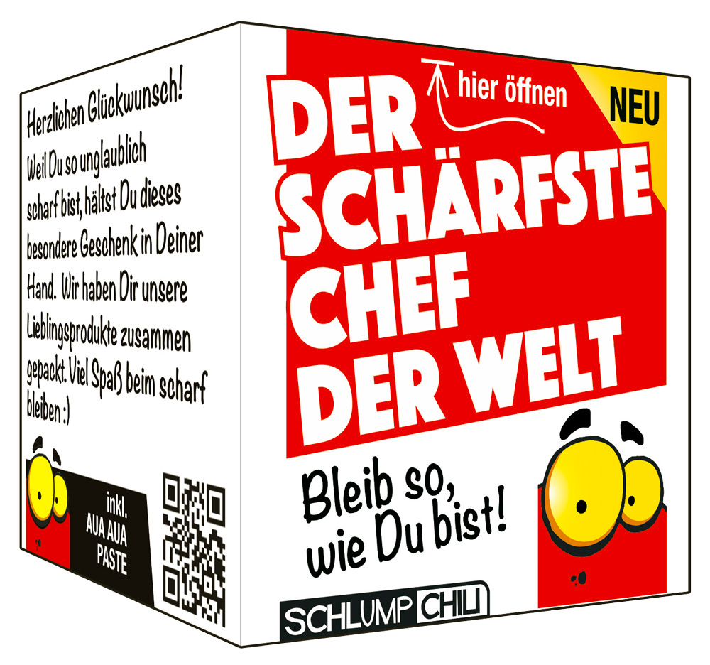 Der schärfste Chef der Welt - Ein witziges Geschenk! | Schlump-Chili ...