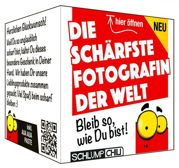 Die schärfste Fotografin der Welt - Ein witziges Geschenk!