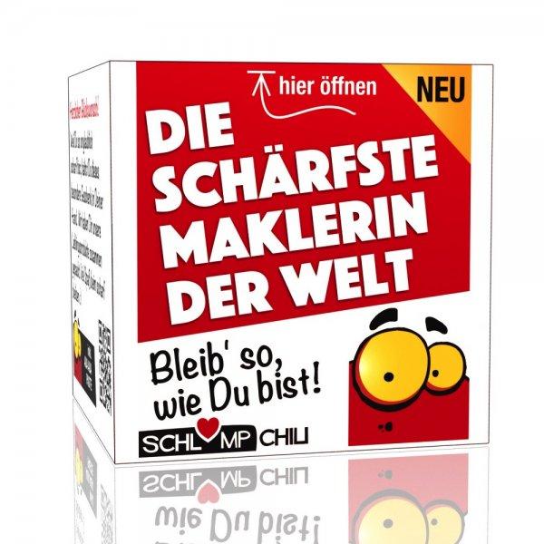 Die schärfste Maklerin der Welt - Ein witziges Geschenk!