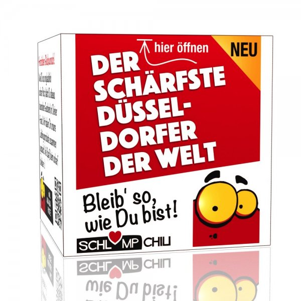 Der schärfste Düsseldorfer der Welt - Ein witziges Geschenk!