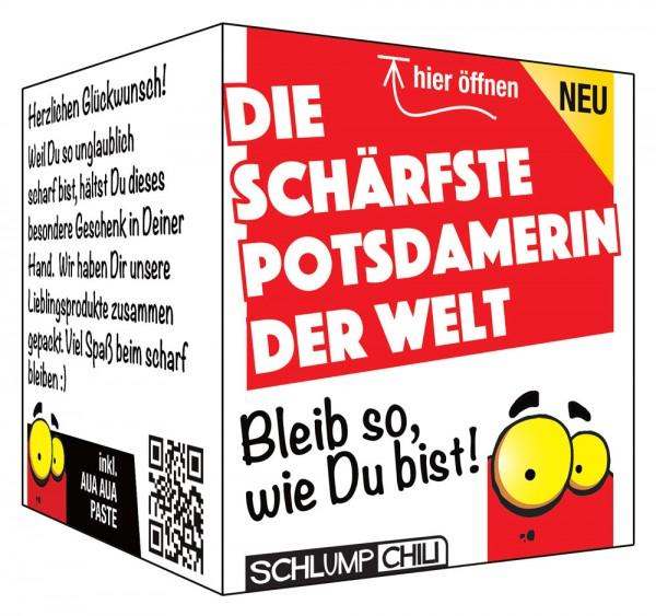 Die schärfste Potsdamerin der Welt - Ein witziges Geschenk!