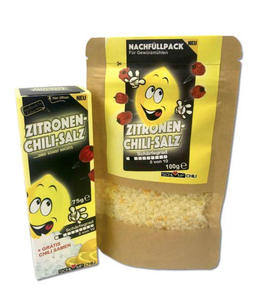 Zitronen-Chili-Gewurzsalz-Set
