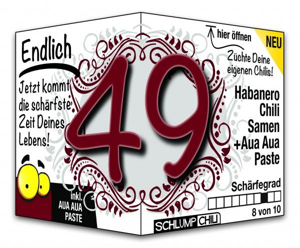 Endlich 49 - Ein scharfes Geschenk zum Geburtstag!