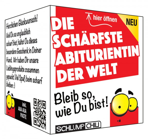 Die schärfste Abiturientin der Welt - Ein witziges Geschenk!