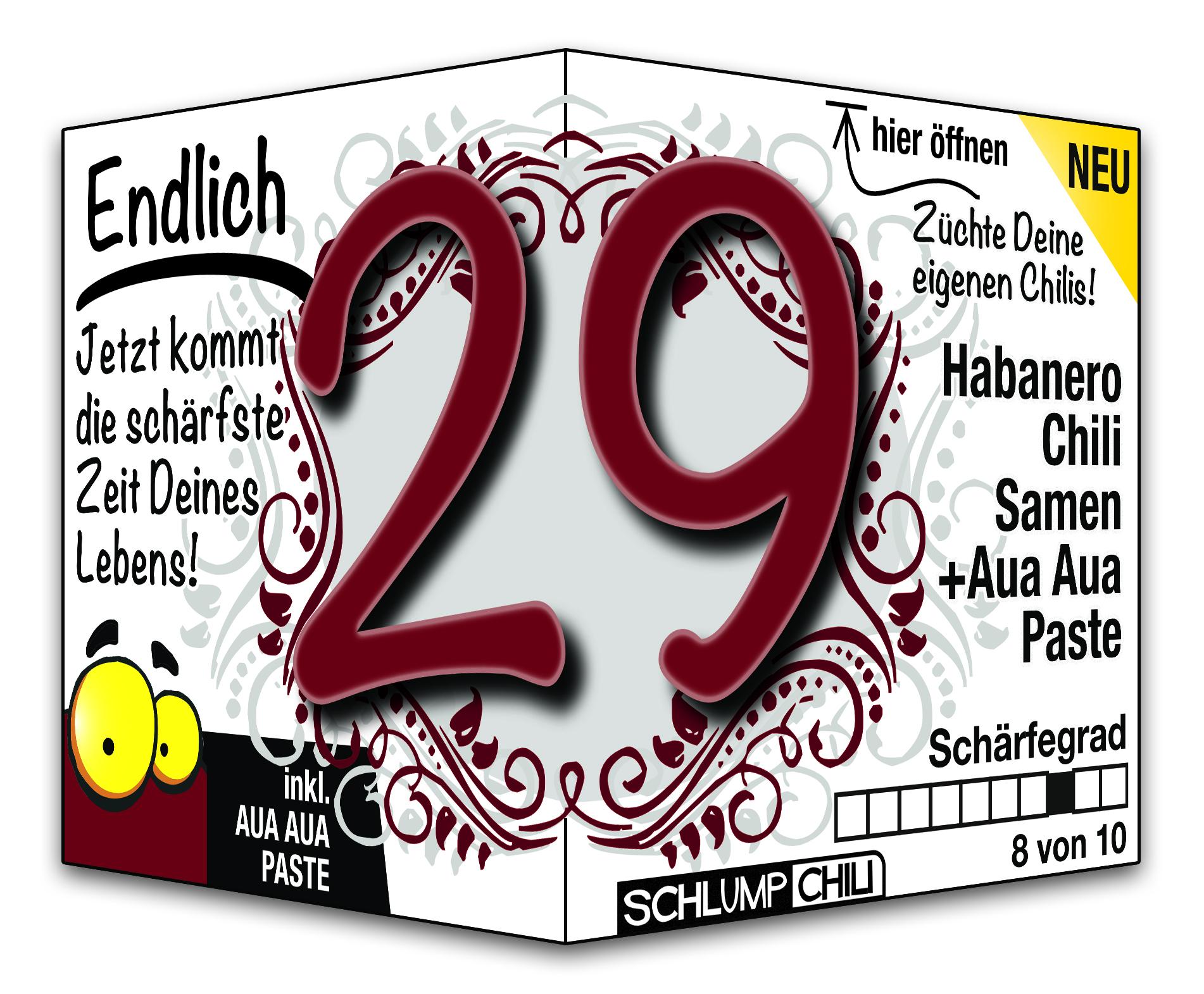 Geburtstagswünsche Zum 29