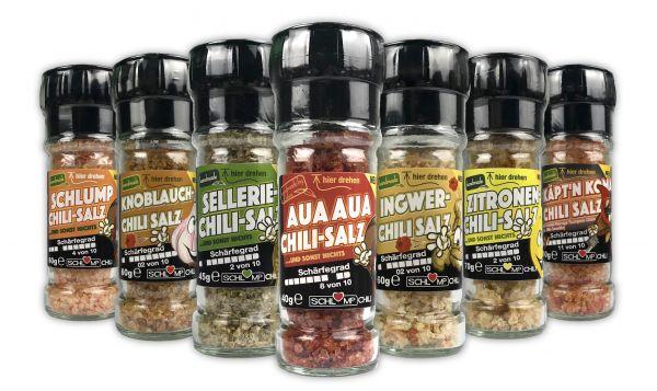 DREHS DURCH! - Spar Set alle 7 Salzmühlen!