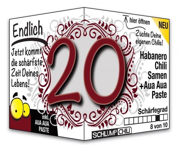 Endlich 20 - Ein scharfes Geschenk zum Geburtstag!
